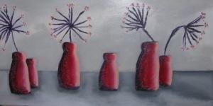 2013 christine red pots